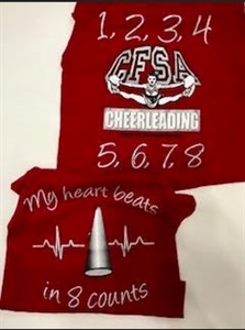 Picture of 2018 Cheer Off Shirt